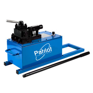high flow, two speed, manually operated pumps | Patriot International